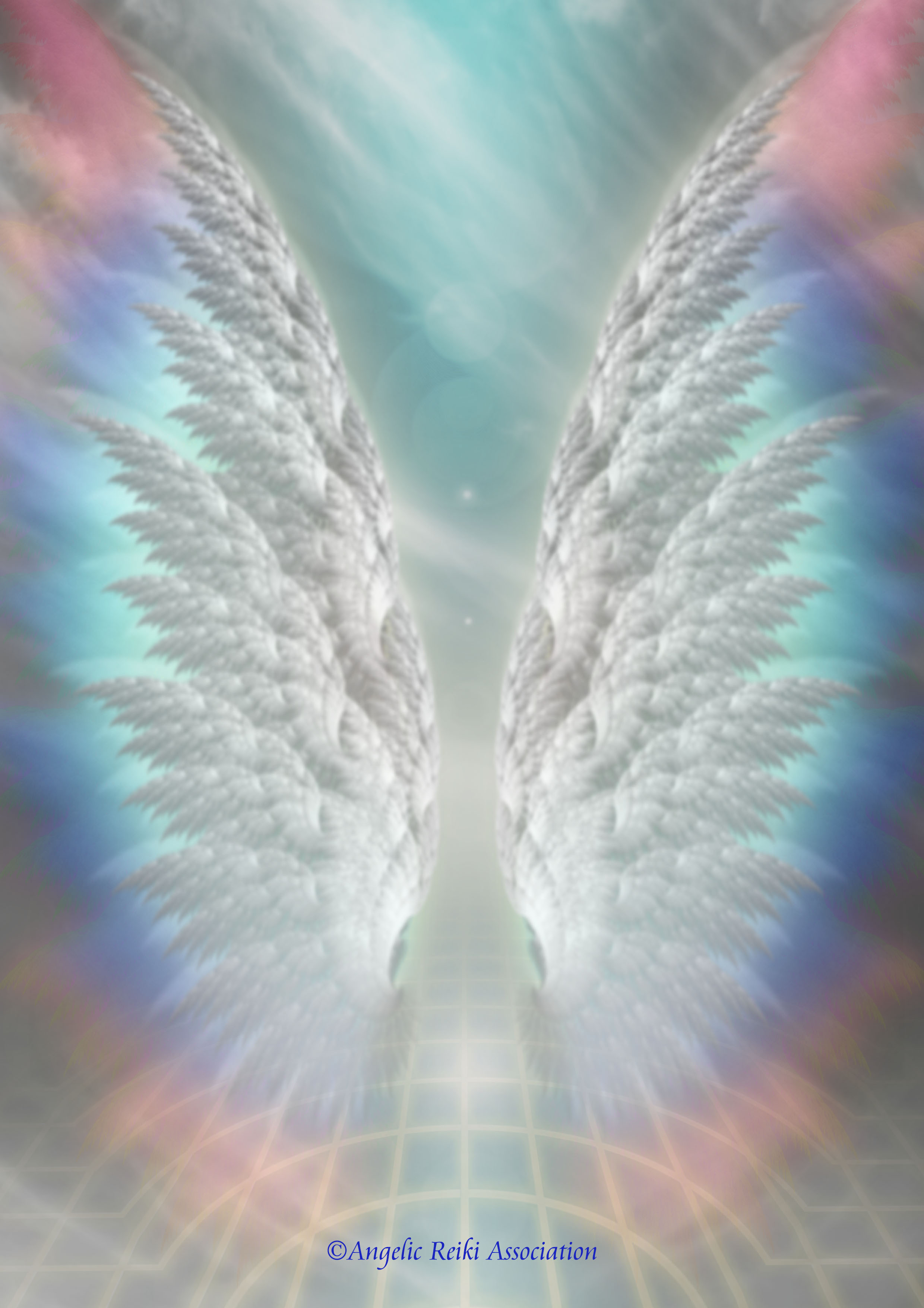Angelic Reiki logo for Colleen Tucker