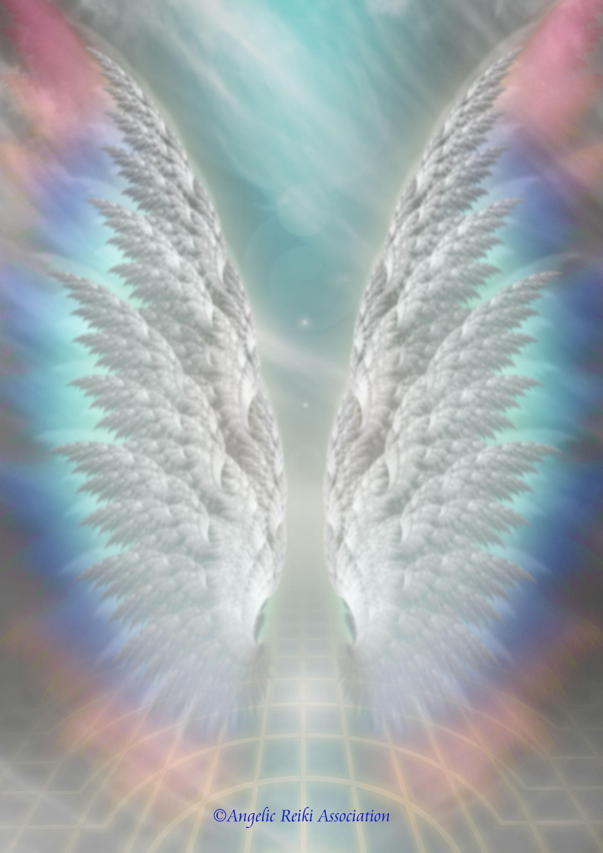 Angelic Reiki logo for Colleen Tucker